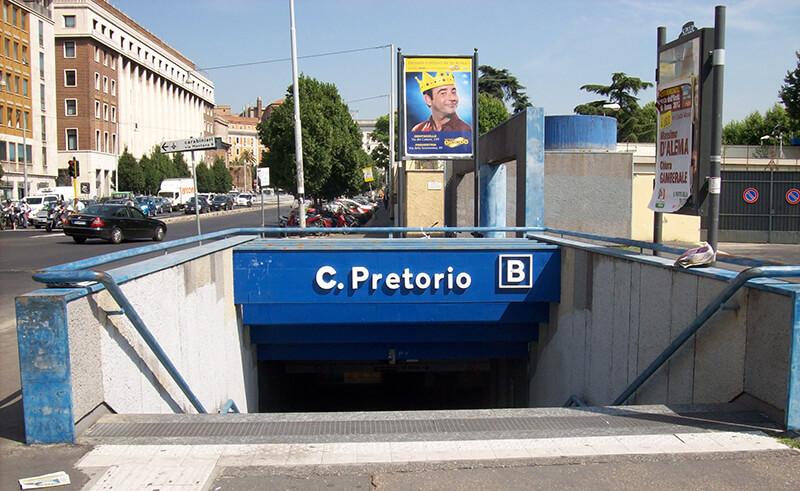 Metro de Castro Pretorio em Roma