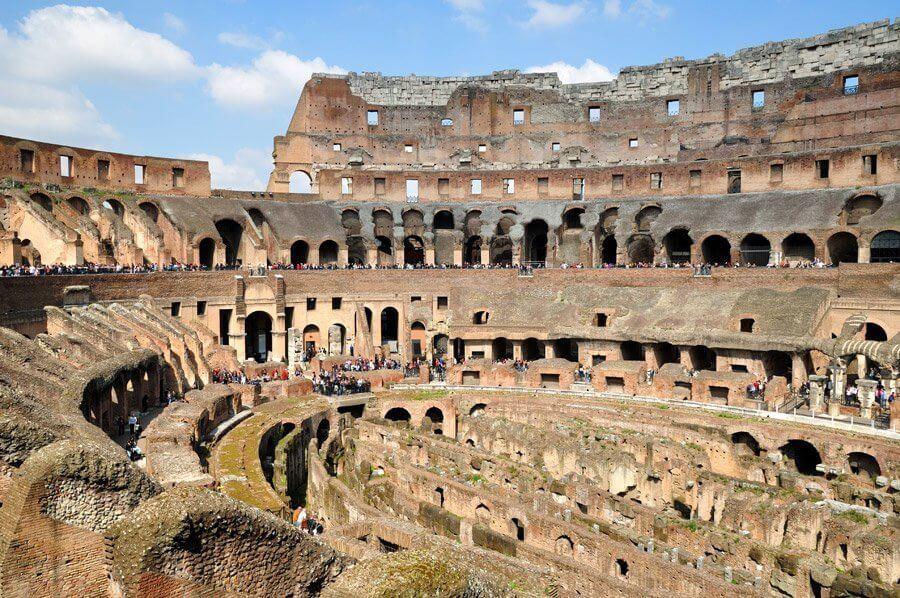 Sobre o Coliseu de Roma na Itália