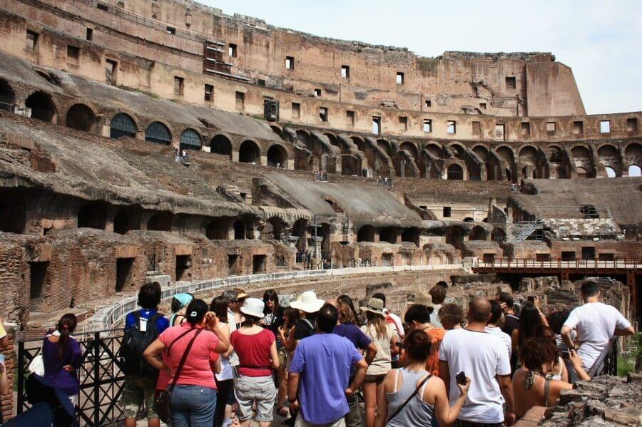 Visita guiada no Coliseu em Roma na Itália