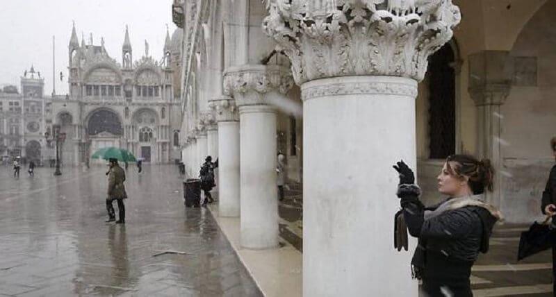 Dias de inverno em Veneza