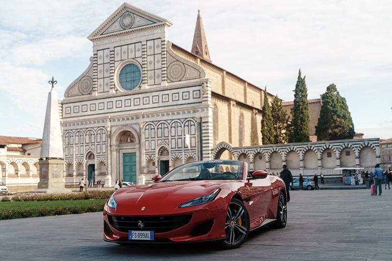Pontos turísticos e aluguel de carro na Itália