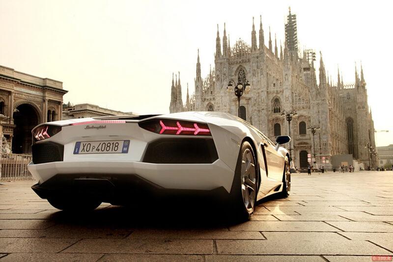Aluguel de carro de luxo na Itália