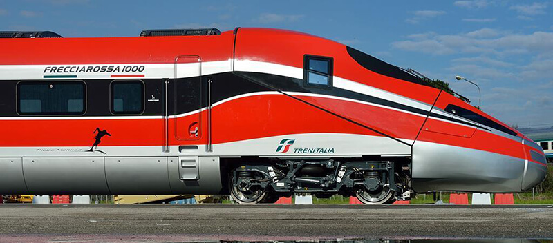 Transporte da Empresa TrenItalia