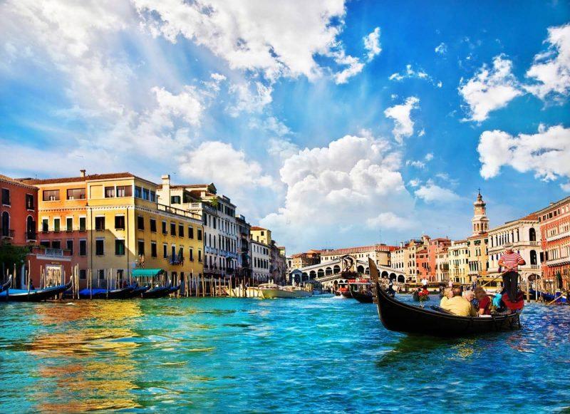 Verão em Veneza
