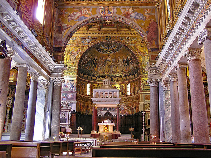 Basílica de Santa Maria em Trastevere
