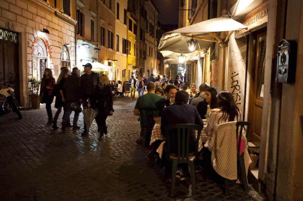 Bares em Roma