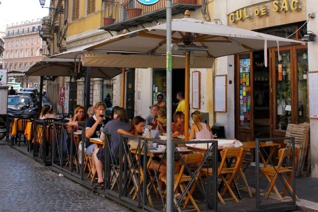 Cul de Sac Wine Bar em Roma