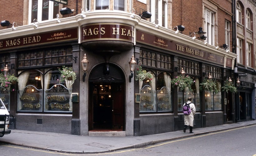 Pub The Nag's Head em Roma