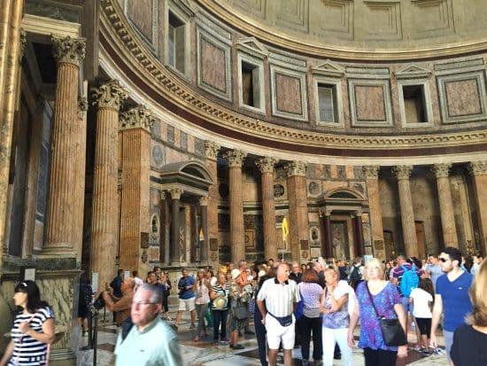 Informações sobre o Panteão de Roma