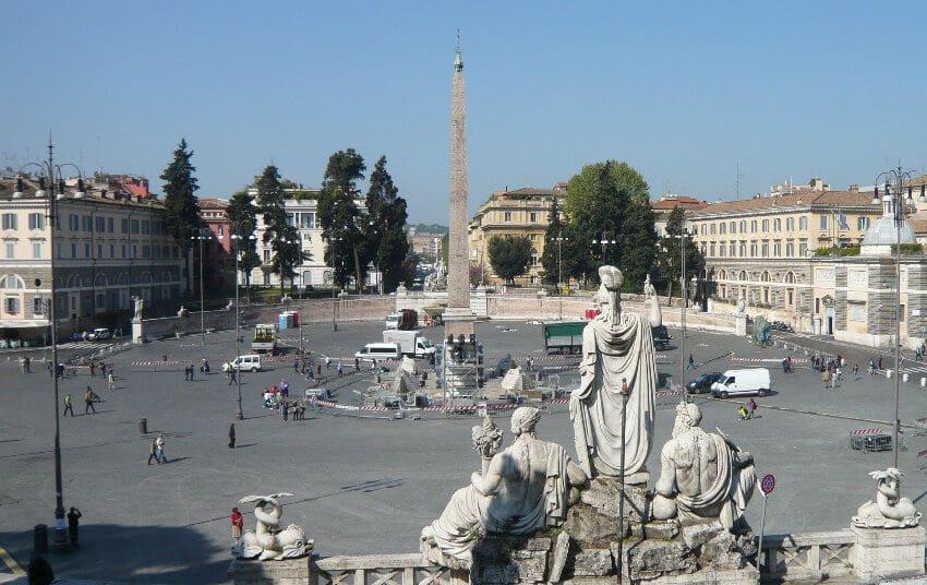 Piazza del Popolo em Roma