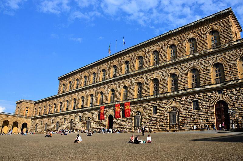 Fachada do Palazzo Pitti em Florença