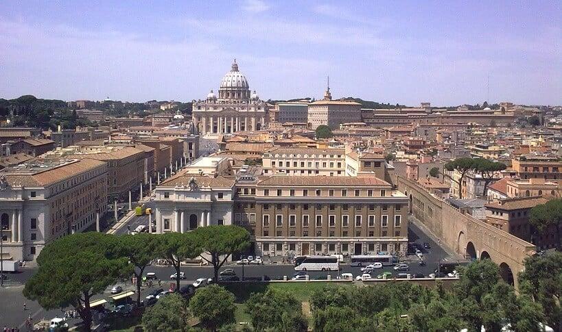 Histórico do Castelo de Santo Ângelo em Roma
