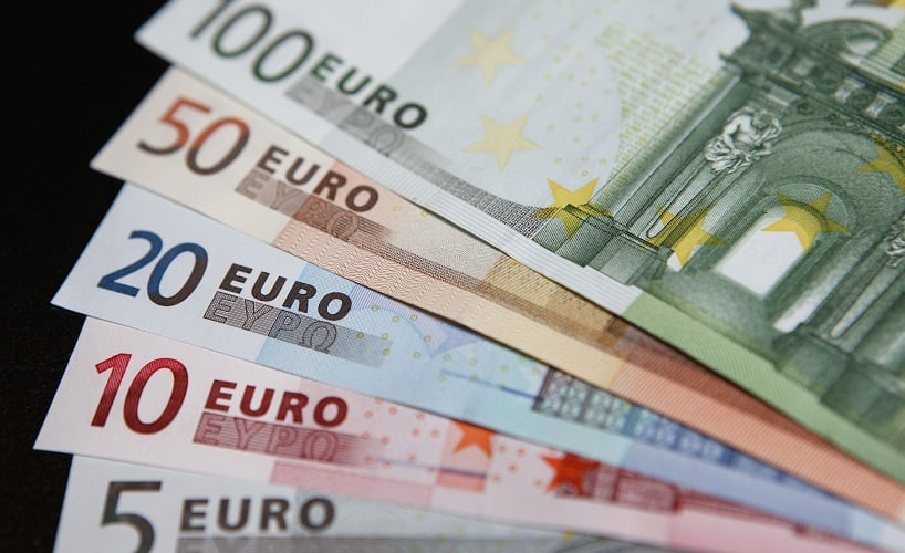 Levar os euros em espécie para Florença