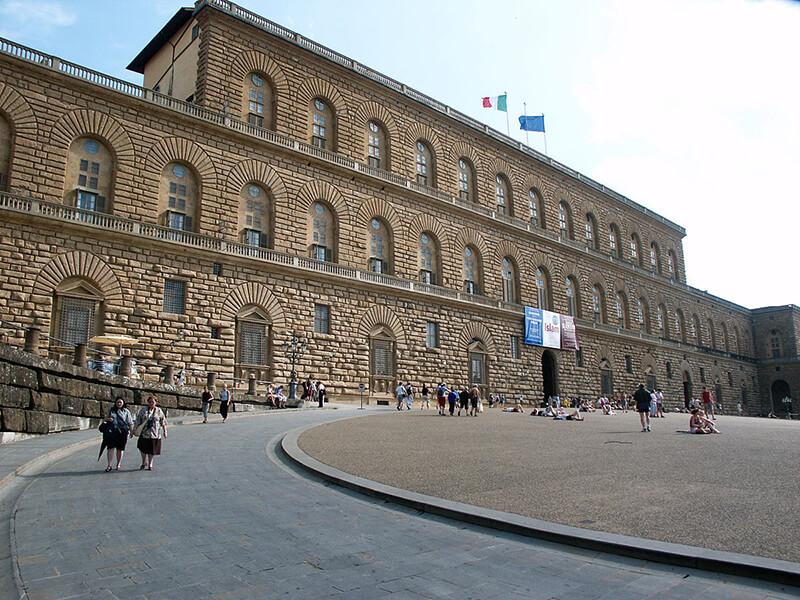 Bairro de Oltrarno em Florença