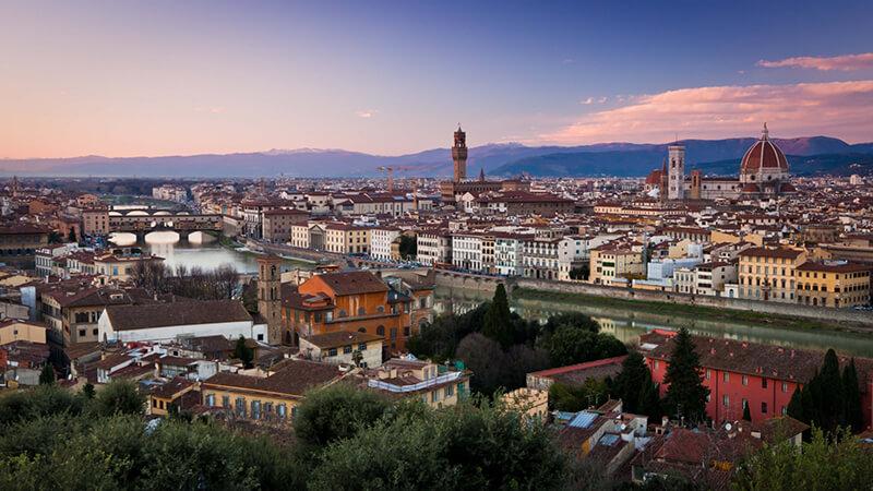 Piazzale Michelangelo em Florença