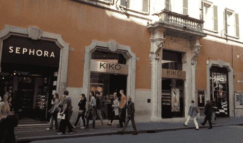 Onde comprar maquiagem em Roma
