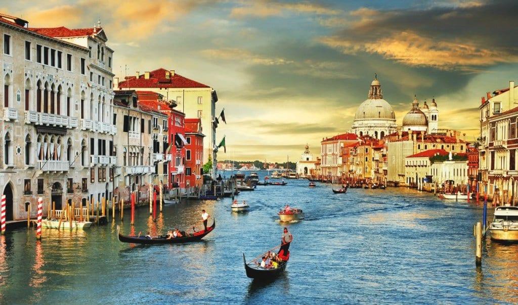Grande Canal em Veneza