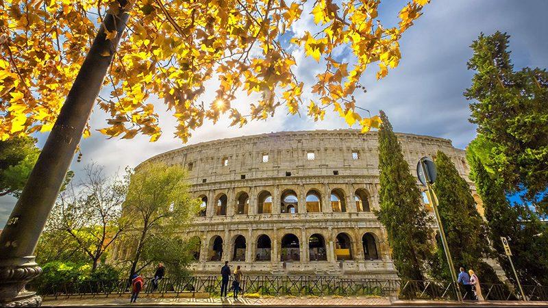 Roma no outono