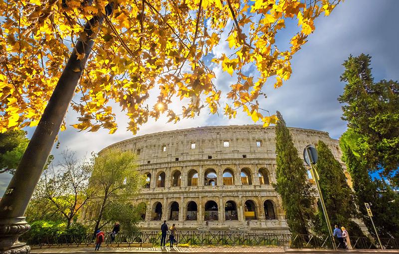 Outono em Roma