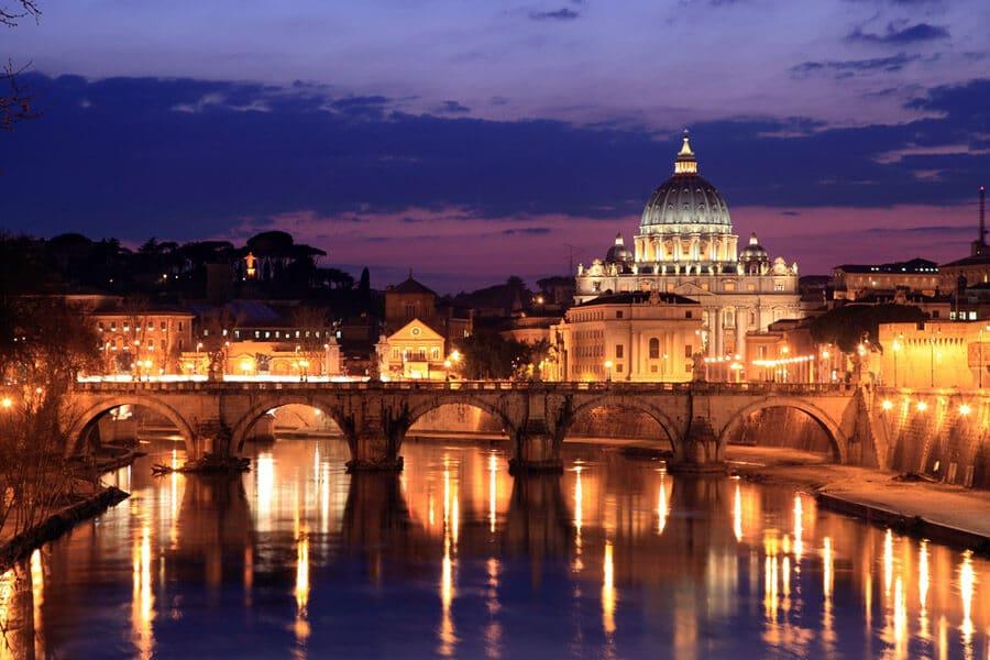 Como levar dinheiro para Roma