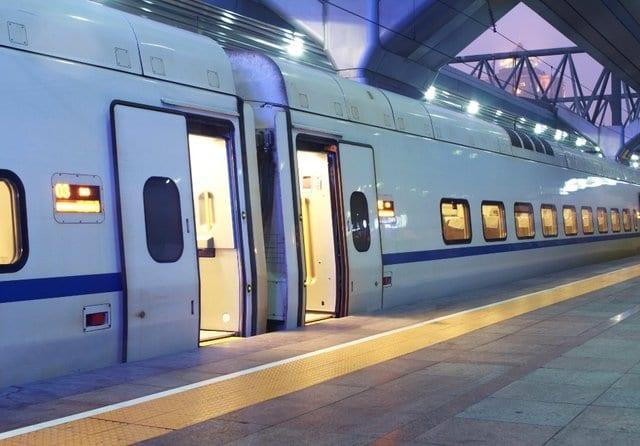 Viagem de trem de Florença a Roma