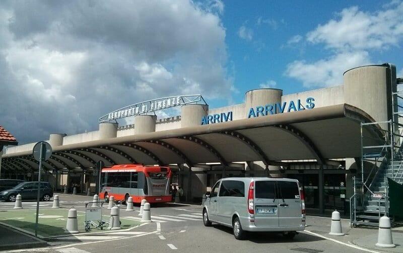 Ônibus do aeroporto até o centro de Florença