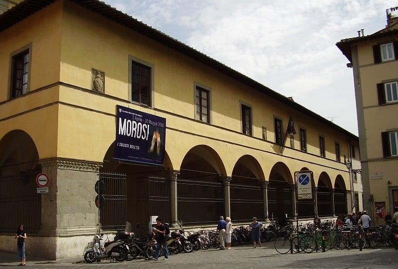 Informações sobre a Galeria da Academia de Belas Artes em Florença