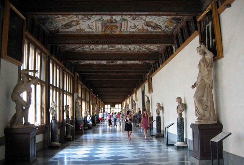 Galleria degli Uffizi em Florença