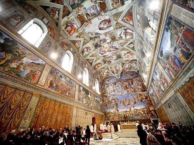 Capela Sistina no Vaticano