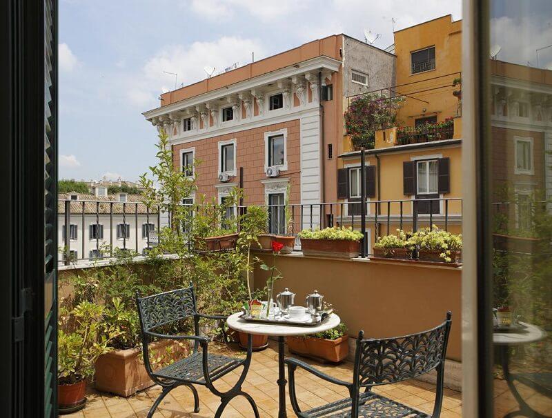 Hotel Hiberia em Roma