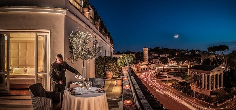 Ótimos hotéis bons e baratos em Roma