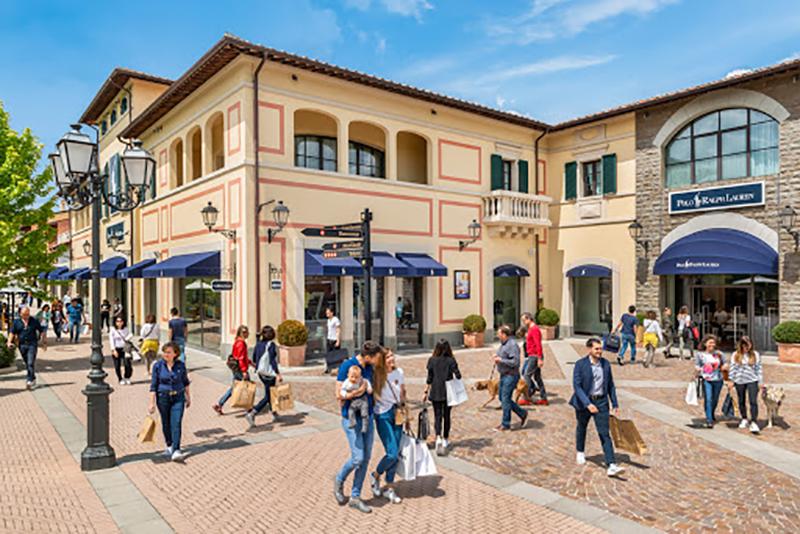 Outlet Barberino em Florença