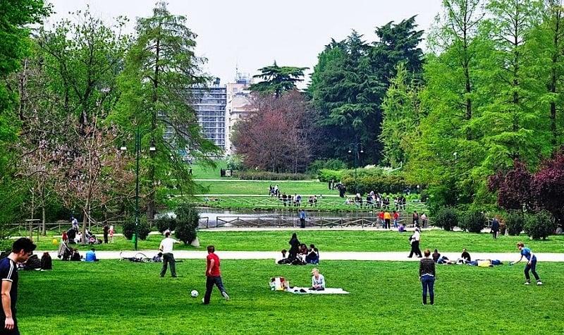 Parco Sempione em Milão