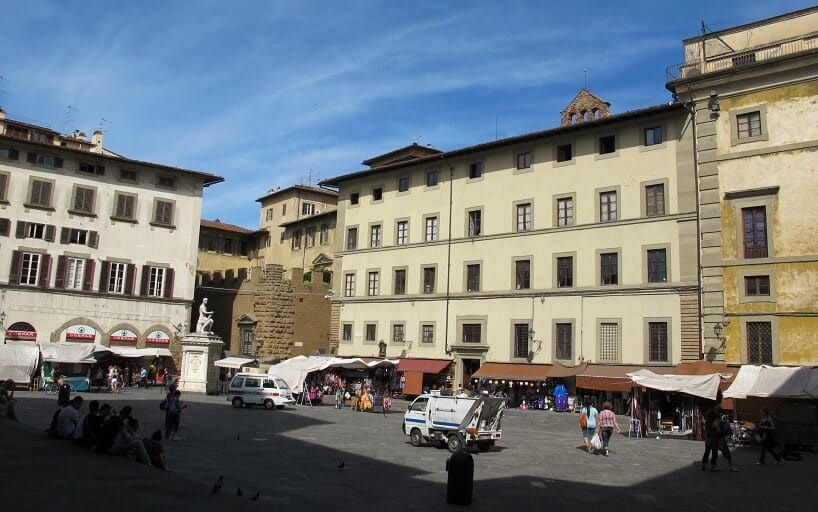 Praça em Florença