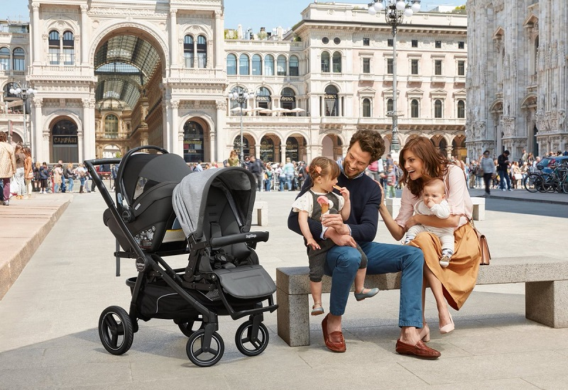 Família em Milão