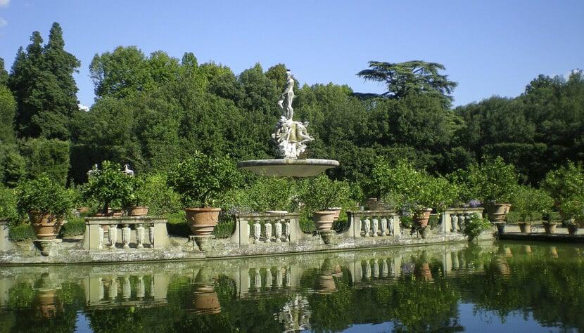 Jardins Boboli em Florença