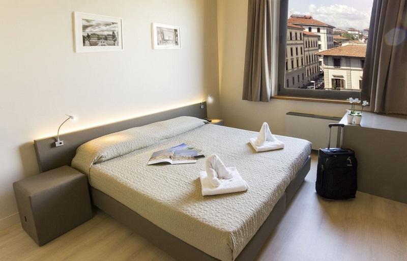 Quarto do Plus Florence Hostel em Florença