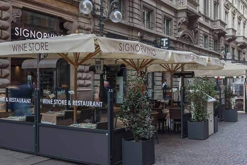 Restaurante Signorvino em Milão