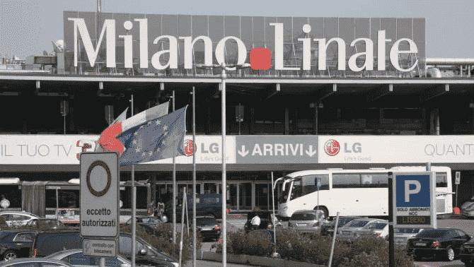 Ônibus do aeroporto de Linate até o centro turístico de Milão