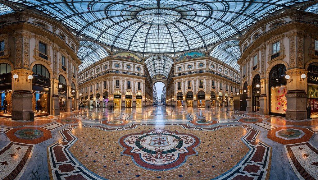 Galeria Vittorio Emanuele em Milão