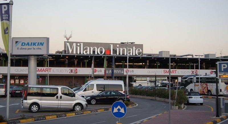 Aeroporto Linate em Milão