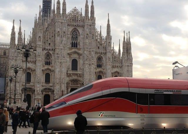 Viagem de trem de Florença a Milão