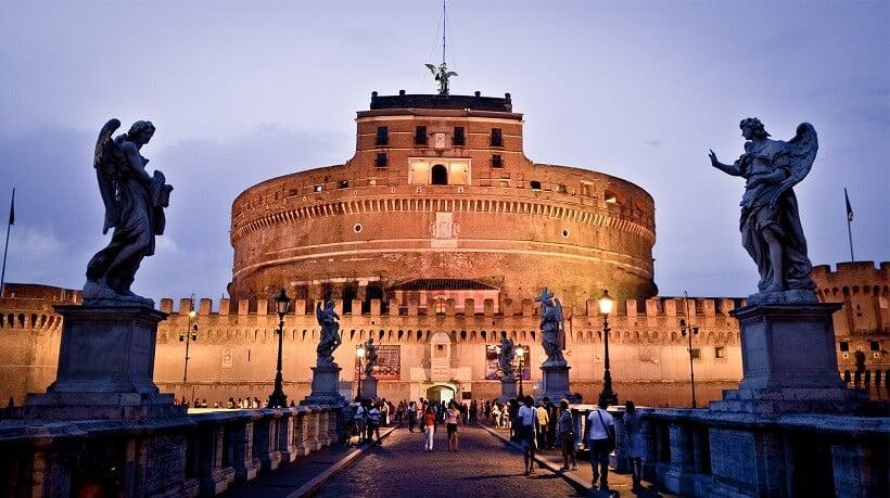 Visita ao Castelo de Santo Ângelo em Roma