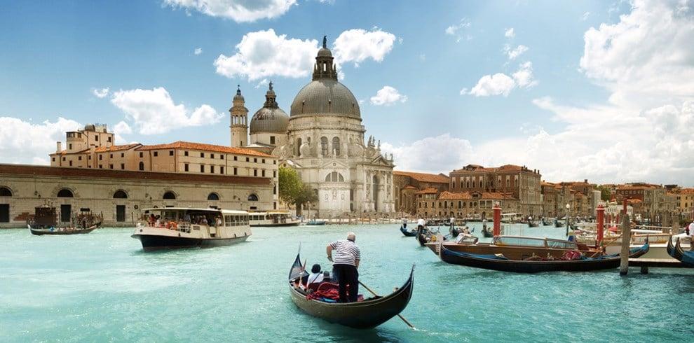 Estrutura da Ponte dos Suspiros em Veneza