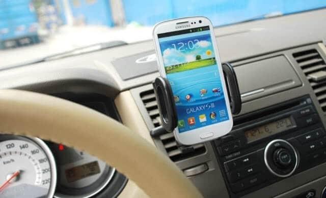 GPS no carro em Florença