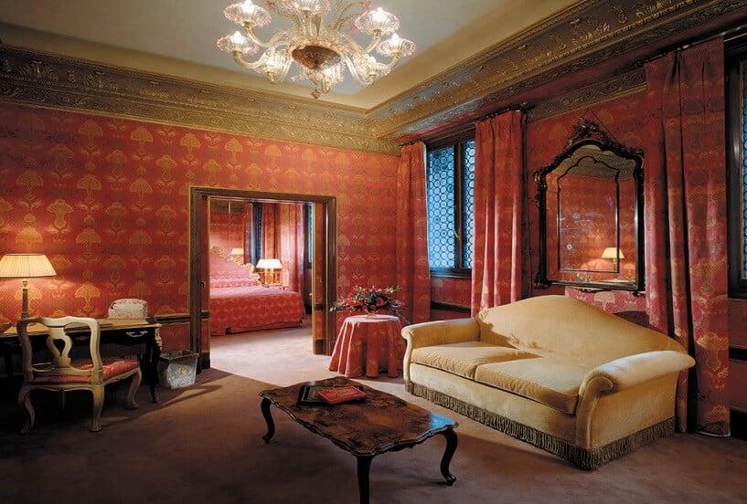 Hospedagem romântica no Hotel II Palazzo em Veneza