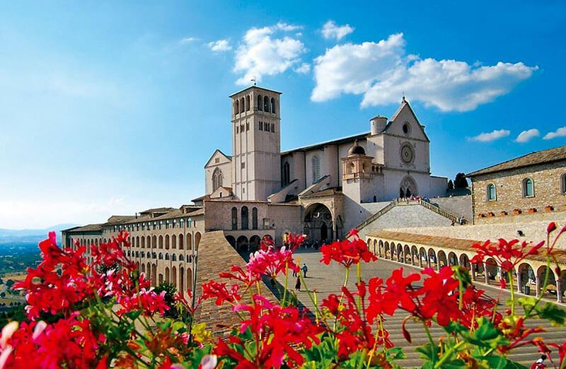 Cidade de Assis na Itália