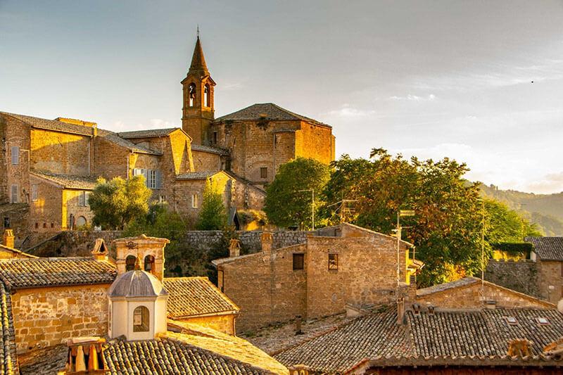Cidade de Orvieto na Itália