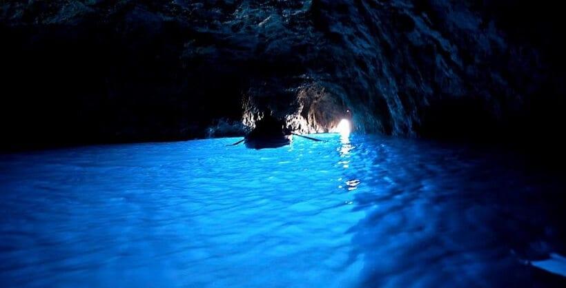 Gruta Azul em Capri na Itália
