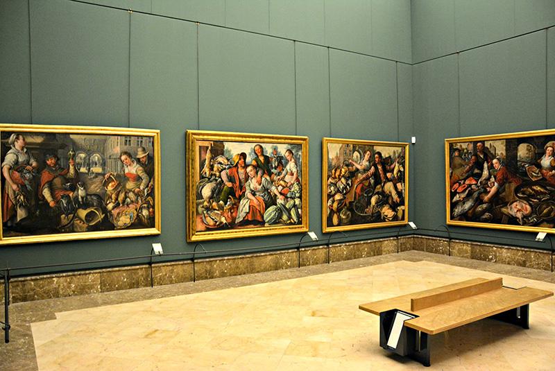 Museu Nacional de Capodimonte em Nápoles
